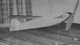 Secret model airplane plan