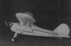 Aeronca K model airplane plan