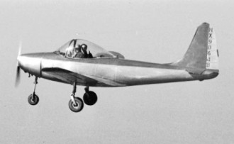 All American Ensign model airplane plan