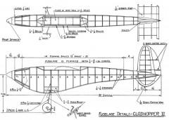 Clodhopper II model airplane plan
