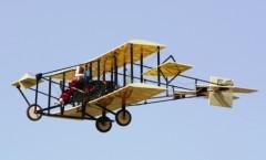 Curtiss Pusher model airplane plan