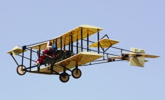 Curtiss Pusher model airplane plan