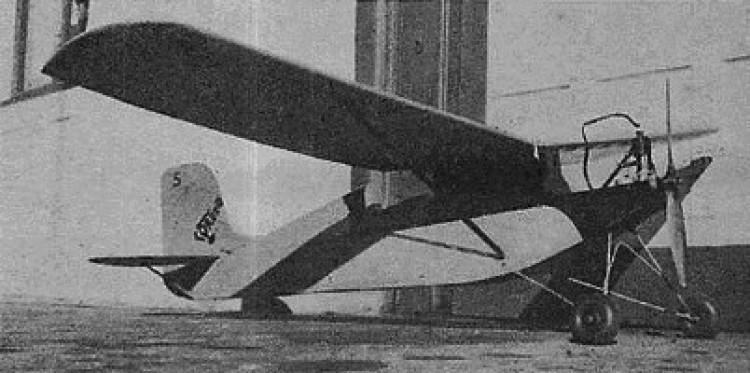 Du Pont model airplane plan