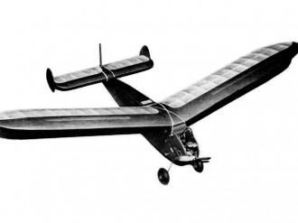 Hoosier Hot-Shot model airplane plan