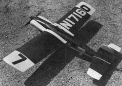 Jersey Lightning Plan model airplane plan