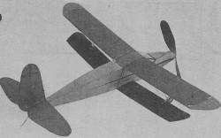 Old Timer model airplane plan