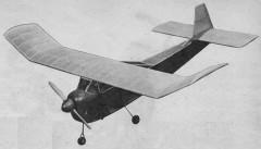 Pleasair model airplane plan