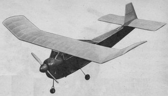 Pleasair model airplane plan