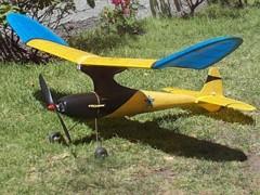 Porkey model airplane plan