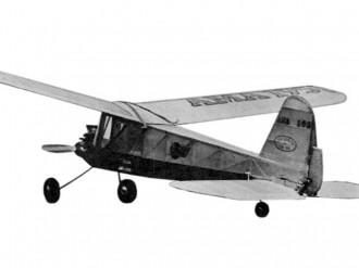 Radart model airplane plan
