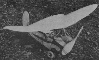 Sky Flea model airplane plan