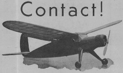 Sky King model airplane plan