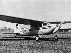 Stately Sadie 50in model airplane plan