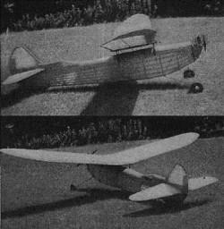 Texaco Trophy model airplane plan