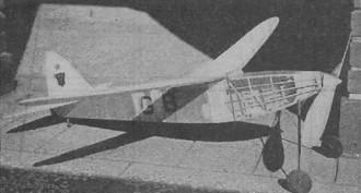 Wakefield Winner model airplane plan
