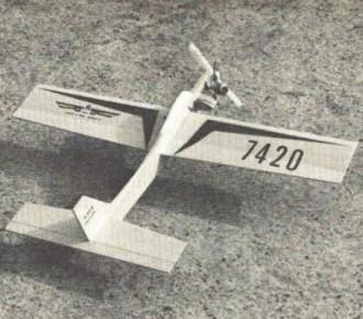 Atom model airplane plan