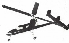 Autogiro model airplane plan