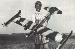 BV-P170 model airplane plan