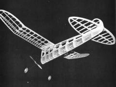 Brooklyn Dodger model airplane plan