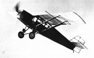 Curtiss Robin OX-5 model airplane plan