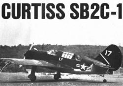 Curtiss SB2C-1 Helldiver model airplane plan