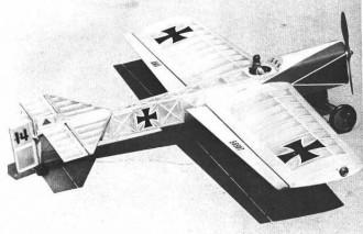 Das Kraut model airplane plan