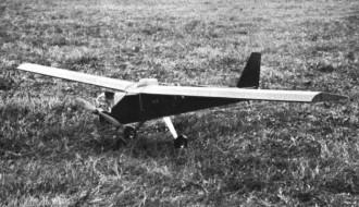 Dennymite model airplane plan