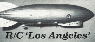 Dirigible model airplane plan