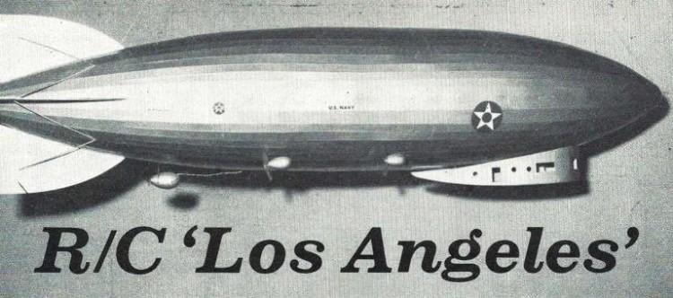 Dirigible model airplane plan