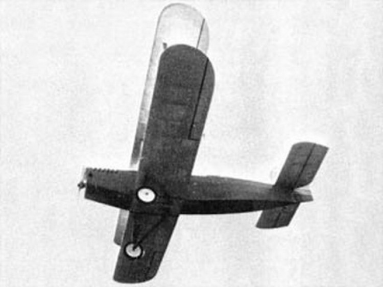 Douglas Mailplane model airplane plan