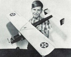Dragonfly model airplane plan