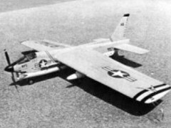 F-8 Crusader model airplane plan