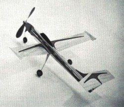 Flashby I model airplane plan