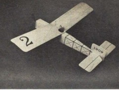 Flying Funtique model airplane plan