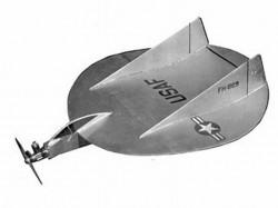 Flying Sorceror model airplane plan