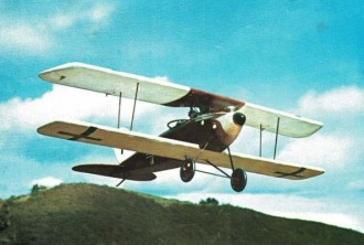 Halberstadt CL 11 model airplane plan