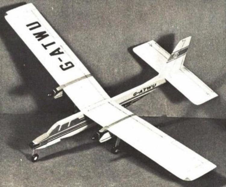 Islander model airplane plan
