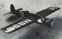 La Jollita model airplane plan