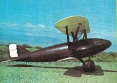 Lockheed S1 model airplane plan