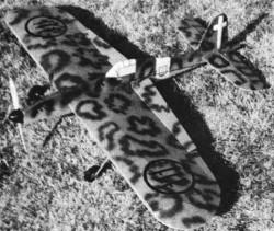 Macchi C 202 model airplane plan