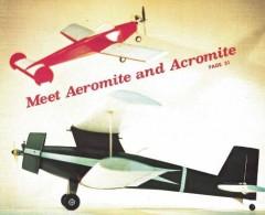 Mini Multis model airplane plan
