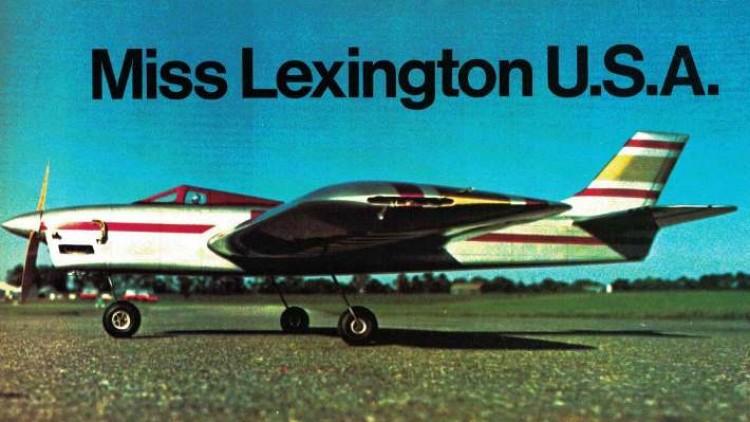 Miss Lexington model airplane plan