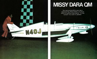 Missy Dara model airplane plan