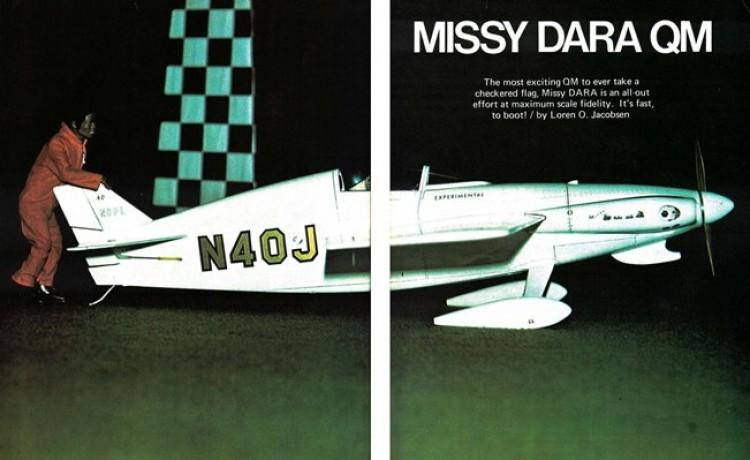Missy Dara model airplane plan