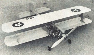 Mo-Bipe model airplane plan