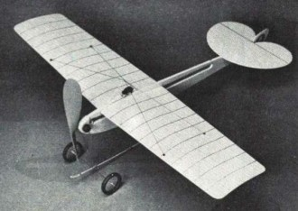 Neighborhood Nieuport model airplane plan