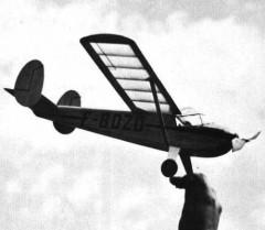 Nord N.C 835S model airplane plan