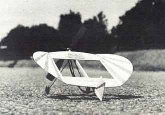 O-Fungle model airplane plan