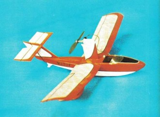 Osprey I model airplane plan
