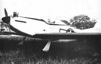 P51D Mustang model airplane plan